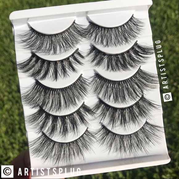Other - HP!! NEW! 🔥 5 PAIR MINK LASH ASSORTMENT